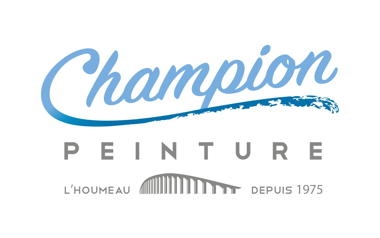 Logo champion peinture
